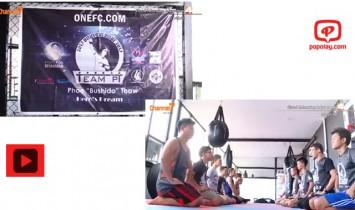 MMA ကစားသမားဖိုးေသာ္မွ ျမန္မာႏိုင္ငံတြင္ ပထမဆံုး MMA သင္တန္းဖြင့္